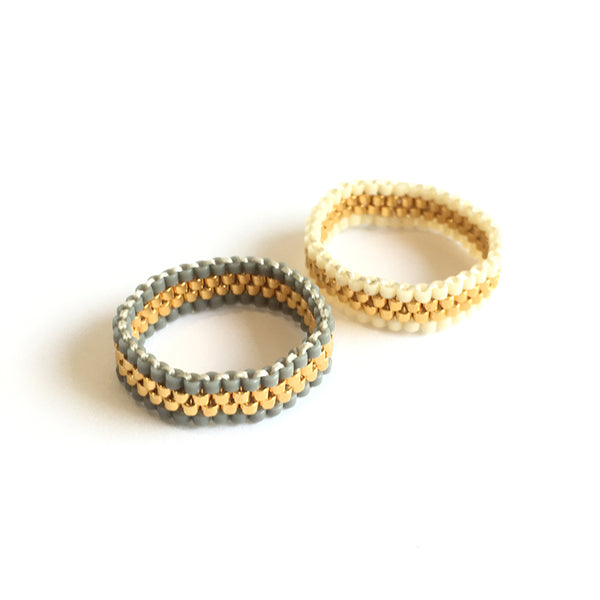 Endito Narrow Woven Ring