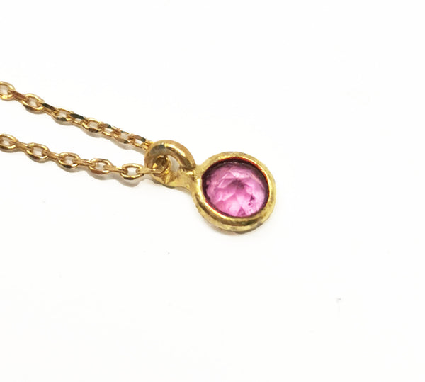 Touch Necklace Tourmaline