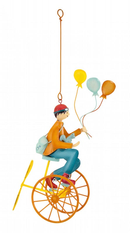 Triples & Triplettes Mobile Orange Boy Balloons