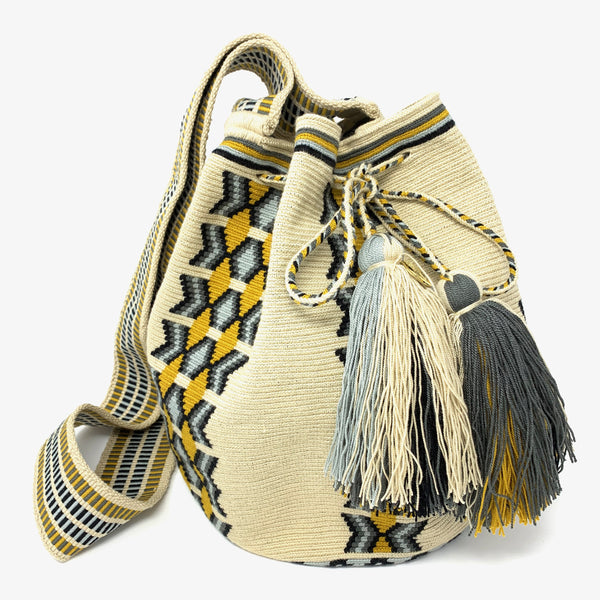 Wayuu Medium Bag Mustard