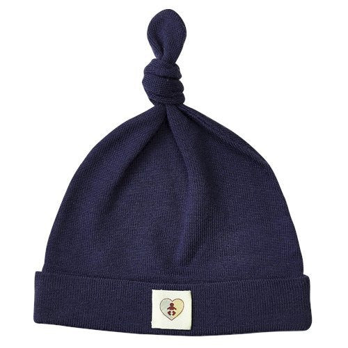 Pure Merino Beanie - French Navy