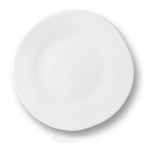 White Porcelain - Medium Plate