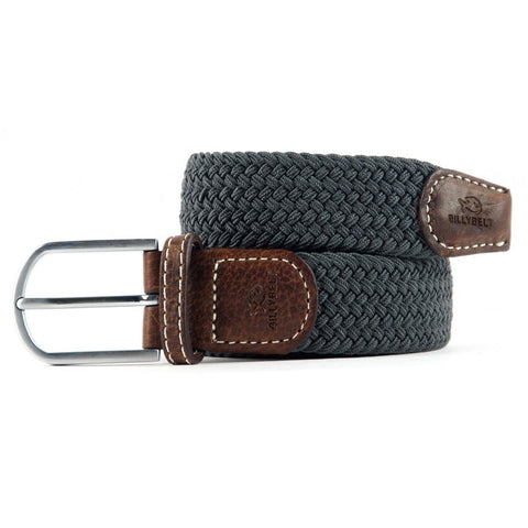 Braided Belt - Flanel Grey