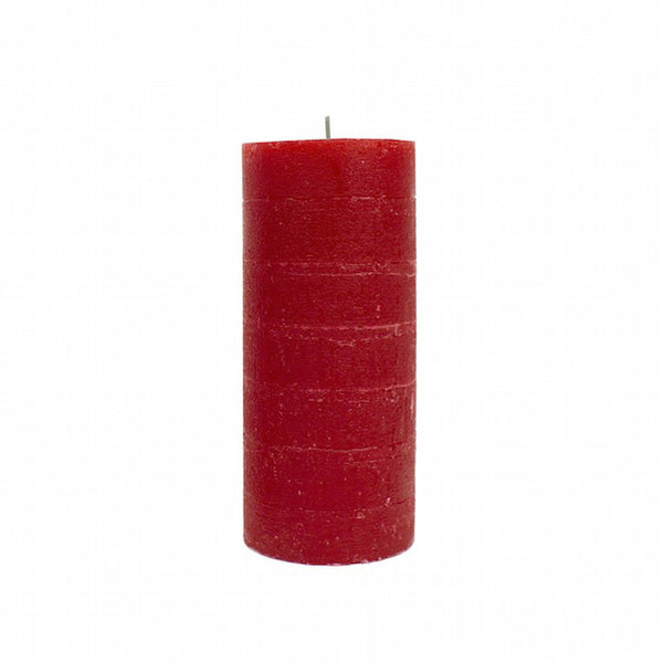 Pillar Candle 13cm- Red