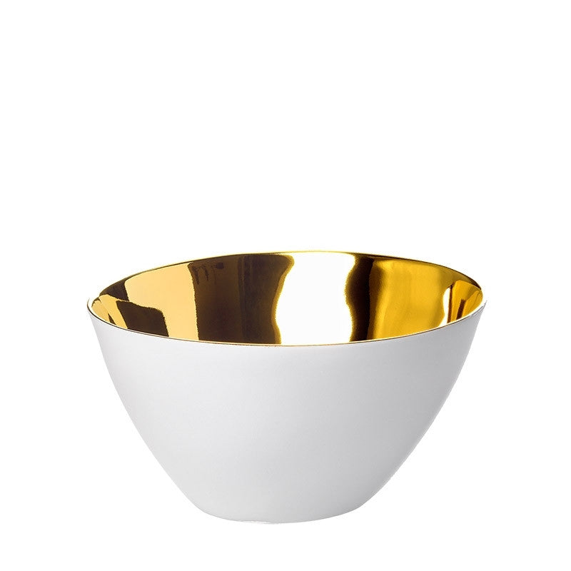 Gold Famished Bowl Small