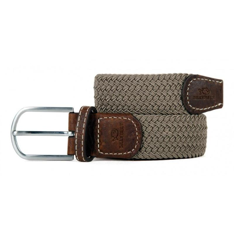 Braided Belt - Taupe Beige