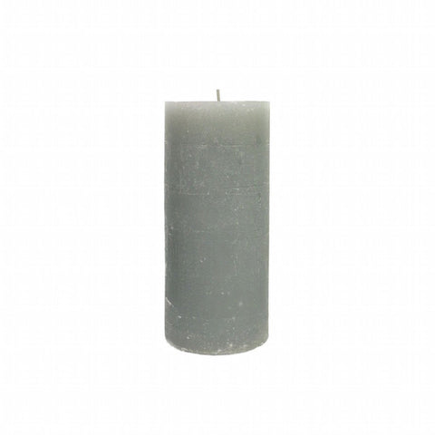 Pillar Candle 13cm- Stone Grey