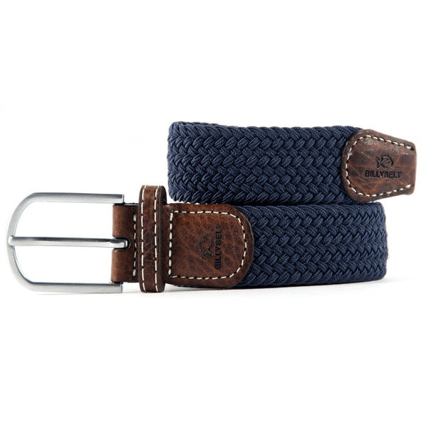 Braided Belt - Slate Blue