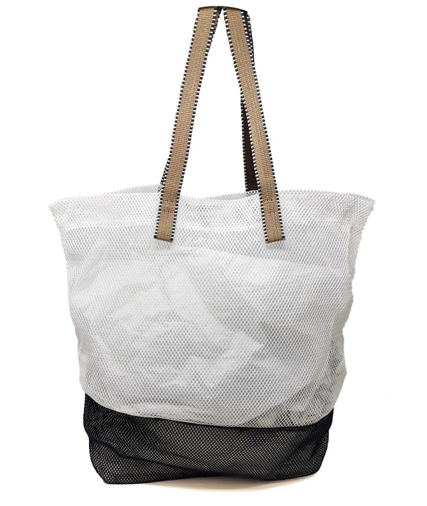 Mesh Tote Bag - Cream