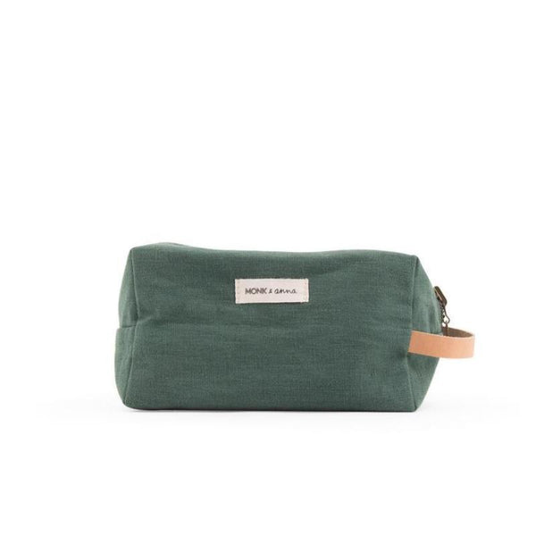 Monk & Anna Toiletry Bag Forest Green