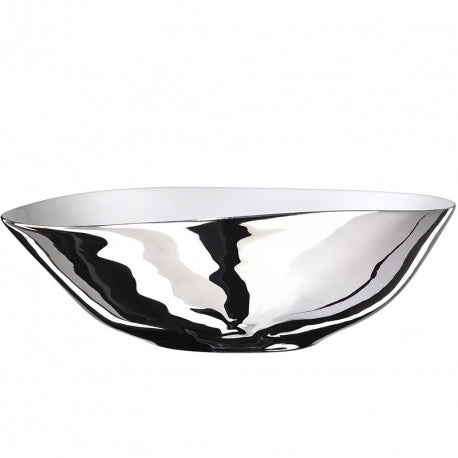 Platinum Glazed - Wide Salad Bowl