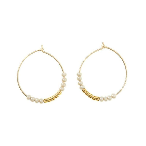Endito Hoop Earrings - Small