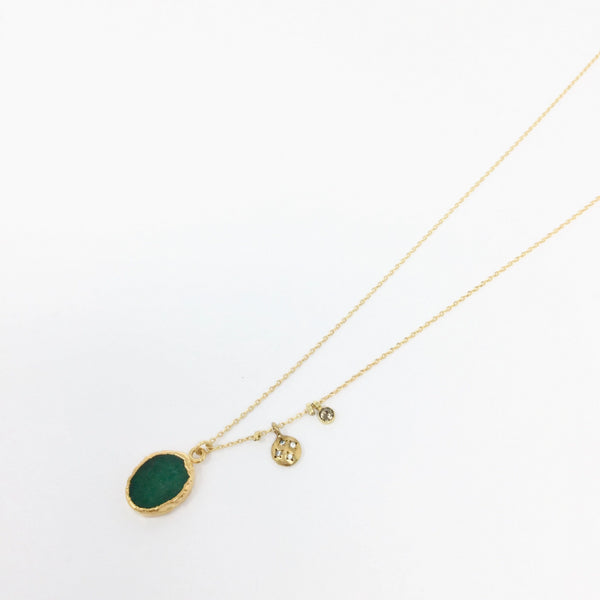 Mystic Necklace Emerald Root