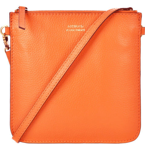 Floppy Flat Clutch - Mango