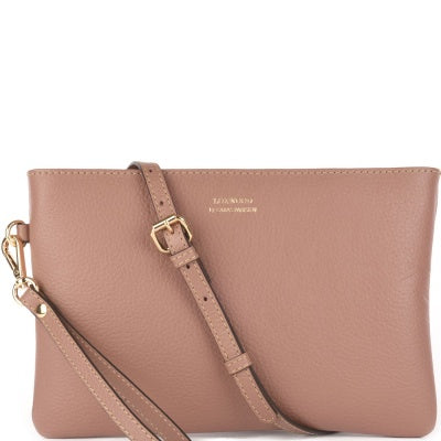 Dakota Crossbody Clutch Blush