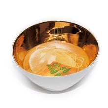 Load image into Gallery viewer, Gold Famished Bowl Small
