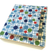 Handmade Sketchbook - Multicolour Spots in Blue Web
