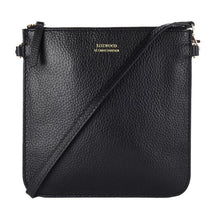Load image into Gallery viewer, Floppy Flat Clutch/ Crossbody Bag - Black