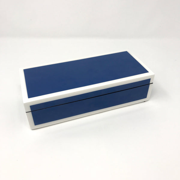 True Blue Lacquer Boxes