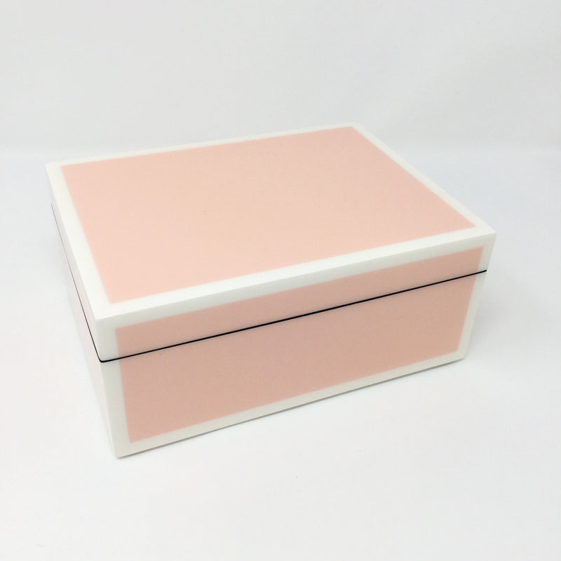 Paris Pink Lacquer Boxes