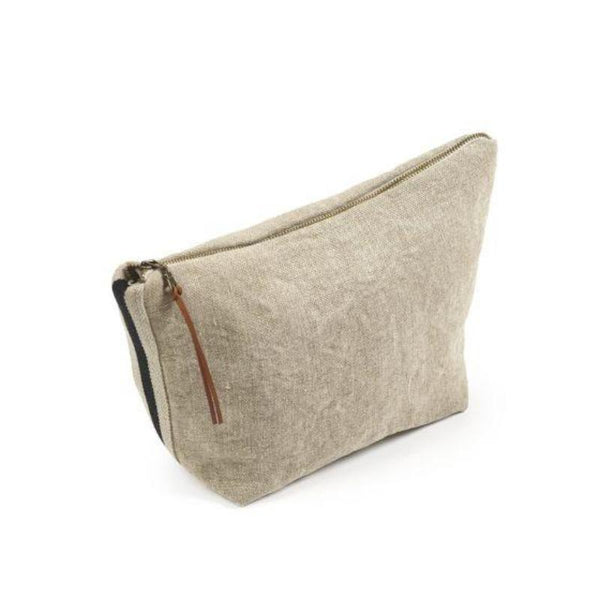 James Cosmetic Bag - Flax