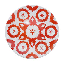 Load image into Gallery viewer, Khiva Plate Vermilion Red