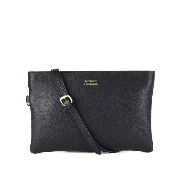 Dakota Crossbody Clutch Black