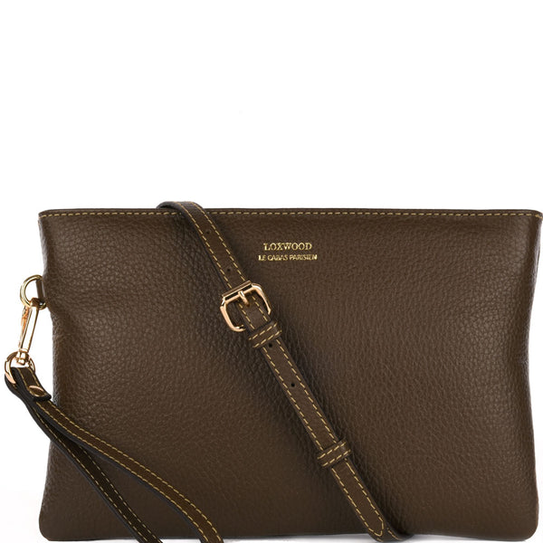 Dakota Crossbody Clutch Khaki