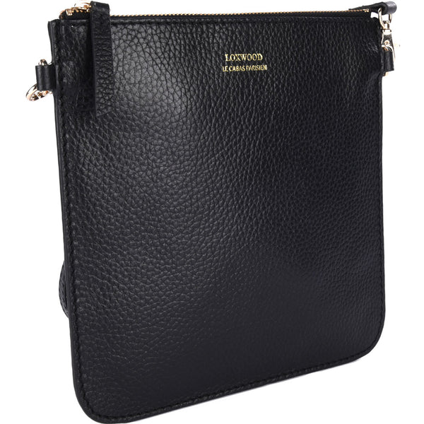Floppy Flat Clutch/ Crossbody Bag - Black