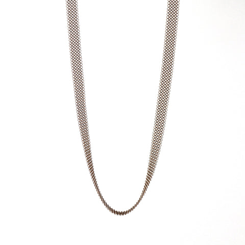 Les Basiques Fine Chainmail Necklace - Copper