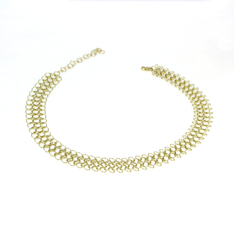 Les Basiques Medium Chainmail Short Necklace
