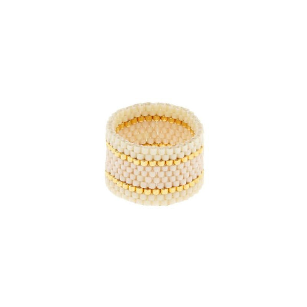 Endito Wide Woven Ring