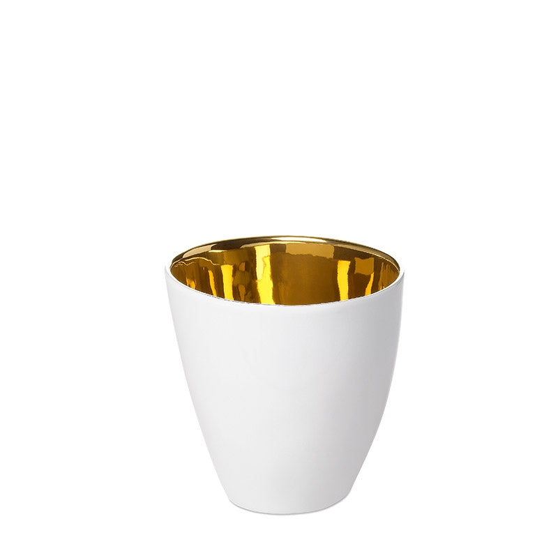 Gold Coffee Cup
