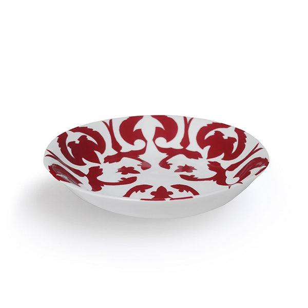 Zarafshan Red Soup Plate