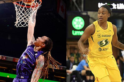WNBA Crossover with Brittney Griner and Jewell Loyd for 2K20 Stream