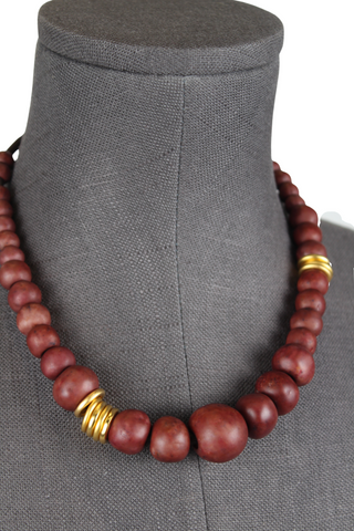 Two A African Bead Necklace