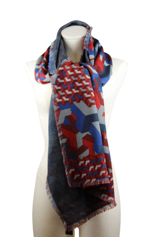 Franco Ferrari Rectangular Scarf (Pick Up In Store Only)