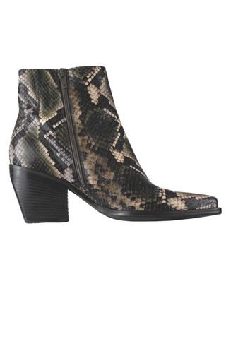 Kennel and Schmenger Snake Print Booties