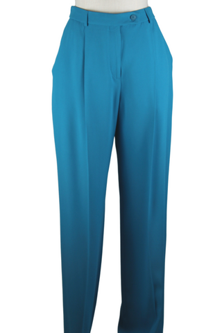 Alberta Ferretti High Waist Trousers