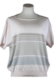 Tonet Boat Neck Light Knit Top