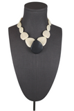 Two A Flat Stone Necklace