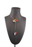 Philippe Ferrandis Floral Detail Necklace (Pick Up In Store Only)