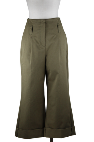 Dorothee Schumacher Wide Leg Cropped Pants