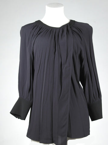 Proenza Schouler Blouse with Tie Neck Detail (Pick Up In Store Only)