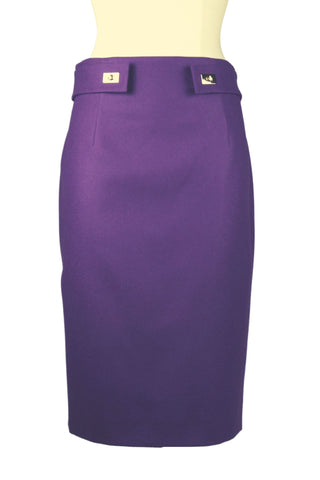 Paule Ka Basic Pencil Skirt, Waist Detail (Pick Up In Store Only)