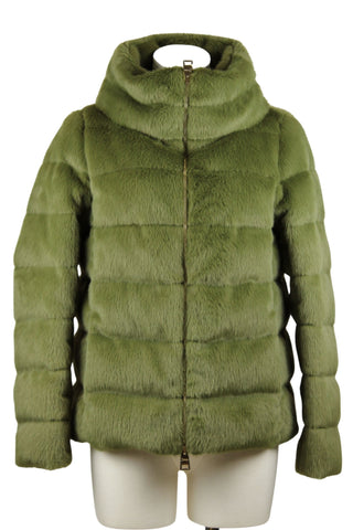 Herno Eco Fur Puffer Jacket