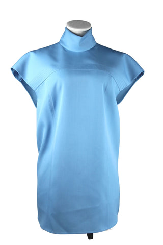 Rochas Cap Sleeve Mock Neck (Pick Up In Store Only)