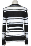 Piazza Sempione Striped Belted Cardigan