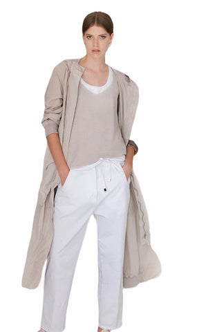 Tonet Chino Drawstring Trousers