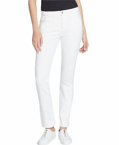 Lafayette White Denim Straight Leg Jeans (Pick Up In Store Only)